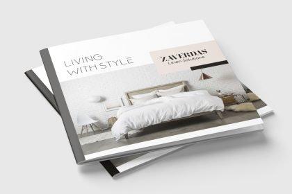 Zaverdas Linen Solutions - Έντυπο Εταιρικής Παρουσίασης
