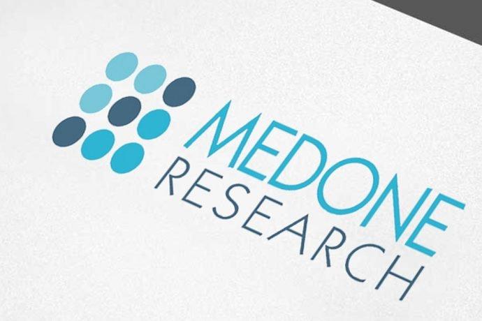 Medone Research - Δημιουργία λογότυπου