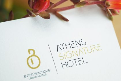 B4B | Athens Signature Hotel - Δημιουργία Λογότυπου & Εταιρική Ταυτότητα