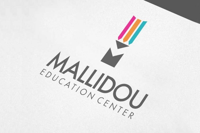 Mallidou Education Center - Δημιουργία Λογότυπου